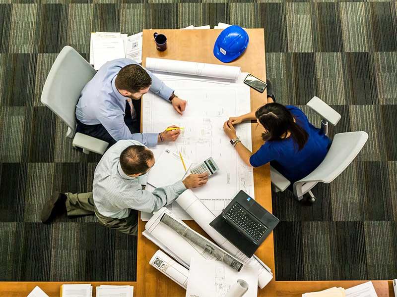 Company Meeting Involving Team Members