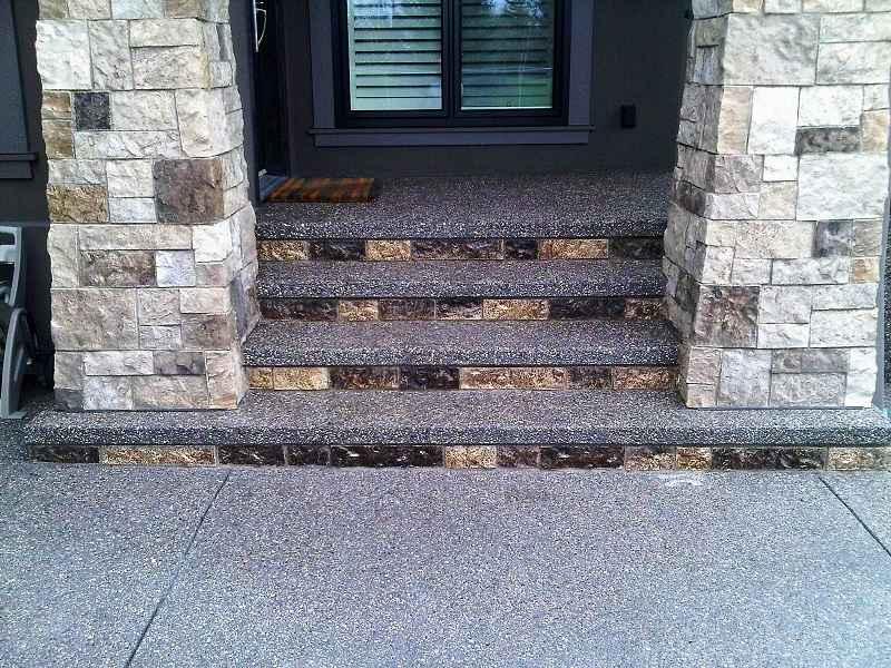 Concrete Steps Photo Two
