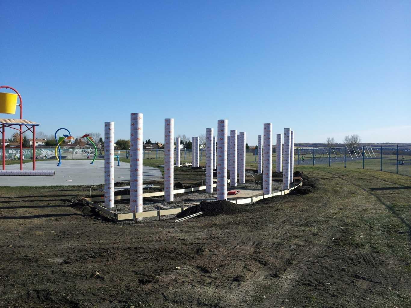 Round Shape Concrete Piles