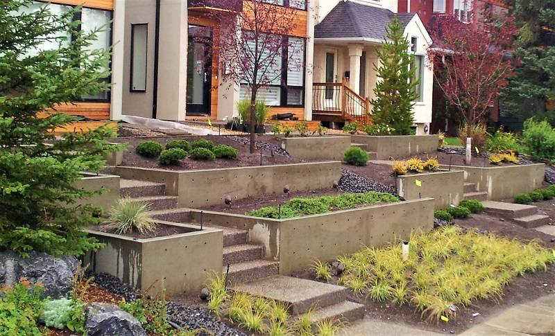 Architectural Concrete Walls Calgary