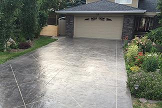 Calgary Alberta Stamped Concrete