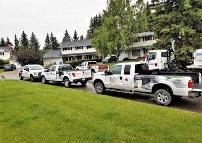 Diversified Concrete Construction Trucks