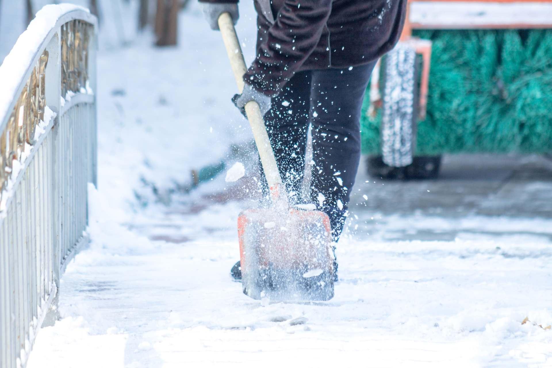 Manual Snow Removal Shovel