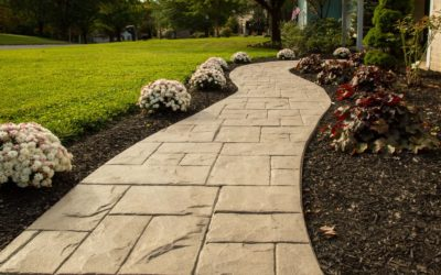 Stamped Concrete for Instant Curb Appeal