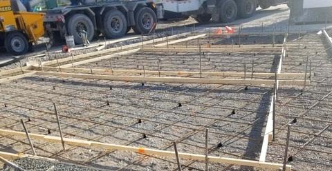 Formed Concrete Rebar