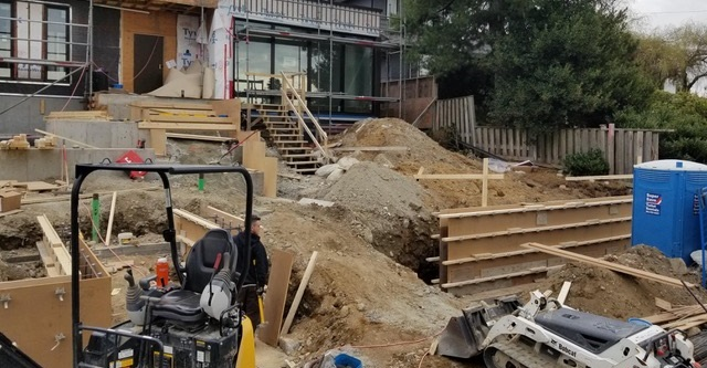 Building Concrete Steps with Plywood