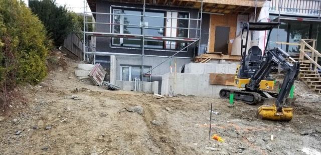 Construction of Concrete Steps
