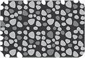 Exposed Aggregate Concrete Black Icon