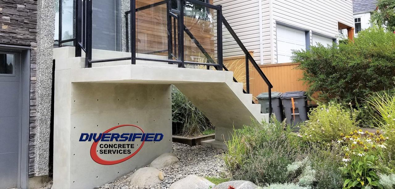 Diversified Concrete Steps