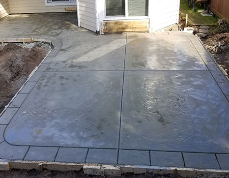 Uncolored Wet Concrete