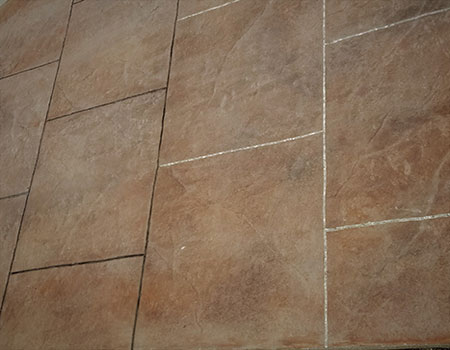 Textured Stamped Concrete