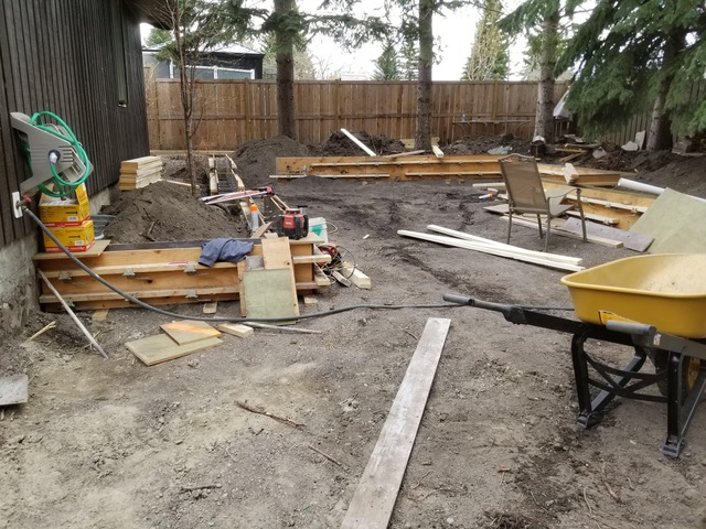 Yard Construction in Progress