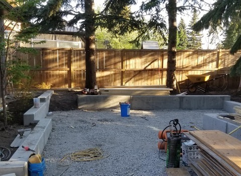 Yard Midway Construction